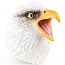 Bald Eagle Head Hand Puppet