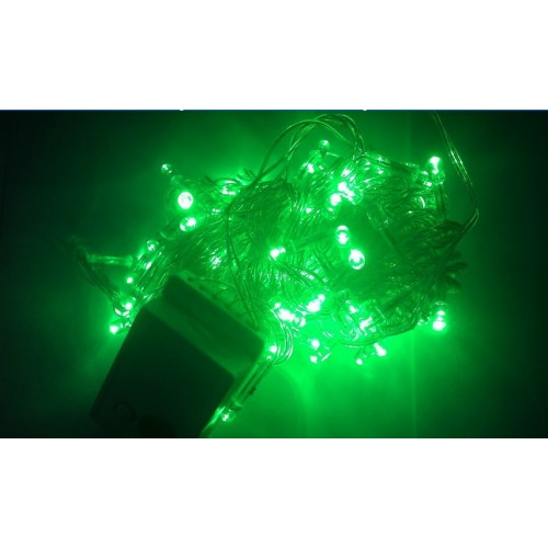 String Of Green Lights : Christmas Party Fairy String Light Waterproof LED Lights - Green