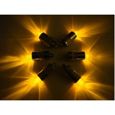 Mini Waterproof LED Lights - Amber