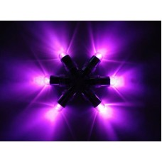 Mini Waterproof LED Lights - Purple