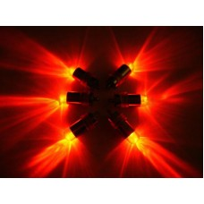 Mini Waterproof LED Lights - Red