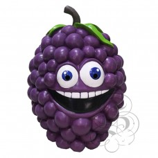 Latex Grapes Fruit Mask