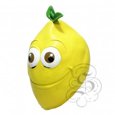 Latex Lemon Fruit Mask