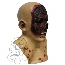 Burn Face Zombie Mask with Chest