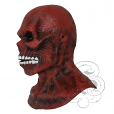 Skinless Skull Mask with Chest