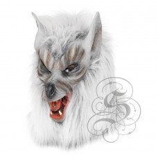 Werewolf Latex Mask ( Grey - Open Mouth)