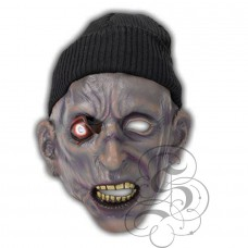 Zombie Latex Mask with bobby Hat