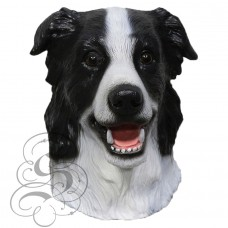 Latex Border Collie Dog Mask