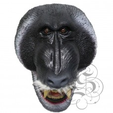 Latex Baboon Ape Mask