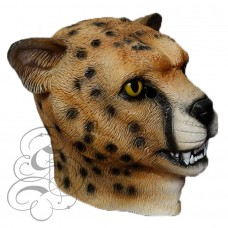 Latex Leopard Cheetah Mask