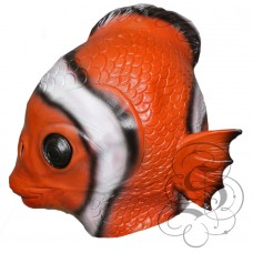 Latex Clown Fish Mask