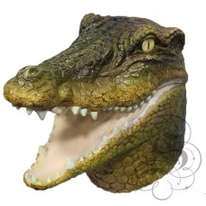 Latex Crocodile Alligator Mask