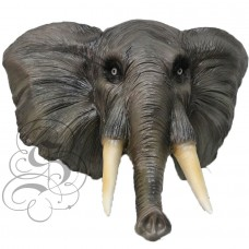 Latex African Elephant Mask