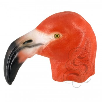 Latex Flamingo Bird Mask