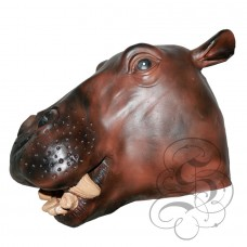 Latex Hippopotamus Mask