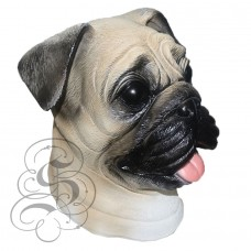 Latex Pug Dog Mask