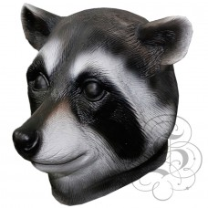 Latex Raccoon Mask
