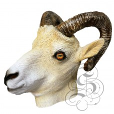 Latex Ram Mask  (with Horns)