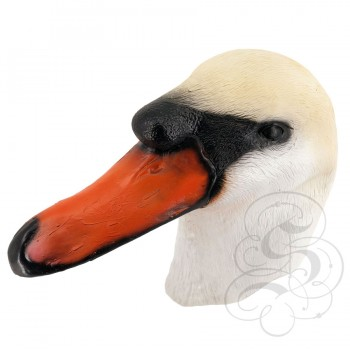 Latex Swan Mask