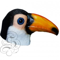 Latex Toucan Bird Mask