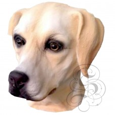 Latex Golden Labrador Mask