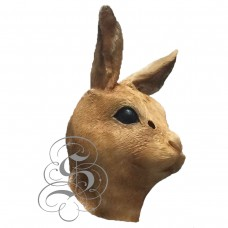 Latex Bunny Mask  (Brown)