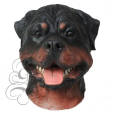 Latex Rottweiler Dog Mask