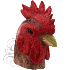Latex Hen Mask