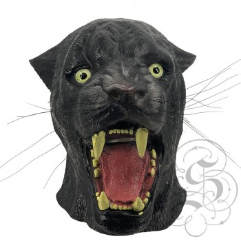 Latex Panther Mask