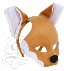 Fox Plush Mask