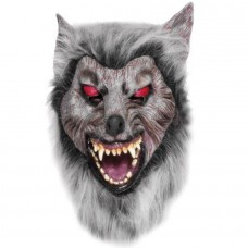 Werewolf Latex Mask ( Grey - Prowler)