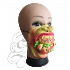 Finger Burger Mask