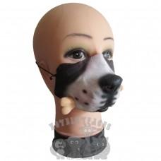 Dog with Bone Mask