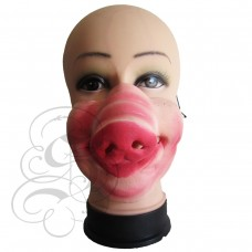 Pig Half Face Mask