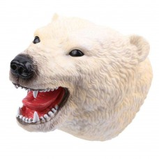 Polar Bear Head Puppet