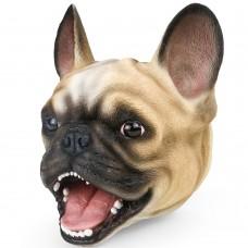 Pug Dog Head Hand Puppet