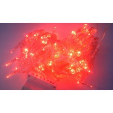 String Light Waterproof LED Lights - Red