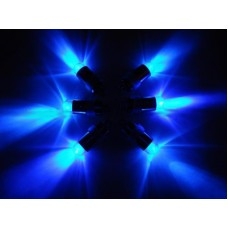 Mini Waterproof LED Lights - Blue