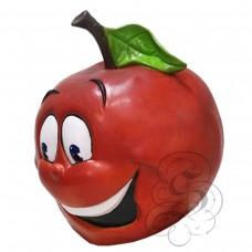 Latex Apple Fruit Mask