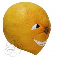 Latex Orange Fruit Mask