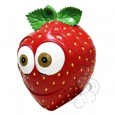 Latex Strawberry Fruit Mask