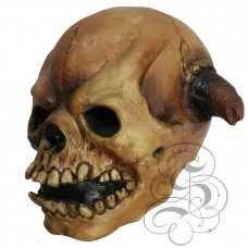 Devil Skull with Horns