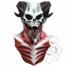 Devil Lord Skull Mask with Chest