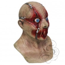 Tortured Victim Latex Mask with Chest