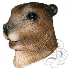 Latex Beaver Mask
