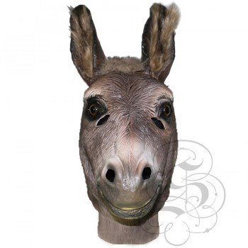 Latex Realistic Donkey Mask