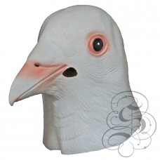 Latex Dove Bird Mask
