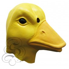 Latex Duck Mask (Yellow)