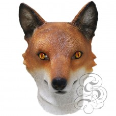 Latex Realistic Fox Mask