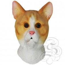 Latex Ginger Cat Mask